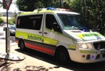 Australian Ambulance Services / An unsung board dedicated to the men and women paramedics who work 24/7 to help those in need from serious life threatening cases to minor health concerns. All states and territories of Australia. All rights reserved to the owners of the photos published on the internet.