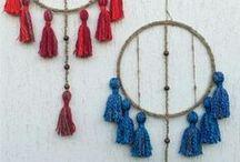 Craft - Tassels / Tassel Crafts, especially wall hanging ...