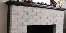 Brick-Anew / The Brick-Anew DIY kit gives a natural, light, real brick look to drab outdated, or painted brick