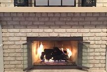 How to clean glass fireplace doors / How to clean fireplace glass and remove soot stains.