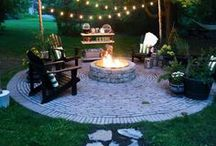 Fire Pit Furniture / Ideas for furniture to go around your outdoor fire pit.