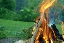 Campfires / Campfires and bonfires