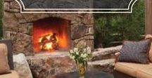 Building an Outdoor Fireplace / How to build an outdoor fireplace