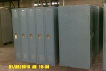 Used Lockers / Used lockers are available in a variety of styles. American Surplus stocks used box lockers (to store small items), used full door lockers (for personal storage of employee belongings), used garment lockers (to store coats and uniforms) and used half door lockers (employee storage for two in the space of one). Our inventory encompasses many different widths and heights of the many styles.