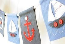 Sew Nautical / Nautical themed Sewing and DIY projects / by BlissfulPatterns