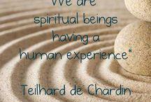 Spiritueel bord / Wat voor mij belangrijk is op spiritueel gebied.
