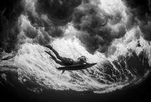 The Ocean. / Waves//Surfing