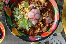 Comida Auténtica Mexicana / Mexican Food / by Maria E. Sanchez