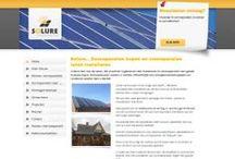 Solure zonnepanelen / http://www.solure.nl Website Solure zonnepanelen