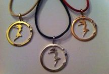 """2014 Pendant By THE BRITELINE / """"In 2014 open the Circle of Happiness!"""" Christina CH."""