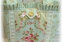 Tašky-kabelky a jiné... / háčkované-pletené-šité