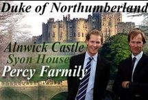 UK_nobles_Northumberlands-Percy / Ralph Percy, the 12th Duke of Northumberland and Percy Family. Anwick Castle, Syon House / by alienora