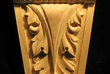 Carved Acanthus Leaf / A collection of wood carved acanthus leaf decor and trim products.