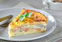 Cuisine - Quiches, tartes salées et tourtes / by Alexia
