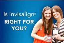 Invisalign / Before and After photos of patients who have completed orthodontic therapy with either braces or Invisalign