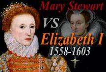 UK_History_Elizabeth I vs Marie Stuart / Elizabeth I (1558-1603). Suitors+favorites: Robert Dudley, Earl of Leicester; Robert Devereaux, Earl of Essex. Advisors: Sir Francis Walsingham; William Cecil, 1st Baron Burghley. Secret Shakespeare.  || Mary Stuart, Mary I of Scotland (1542 – 1587). Husbands: 1) Francis II of France; 2) Lord Darnley; 3) James Hepburn, 4th Earl of Bothwell  / by alienora