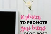 Blog Promotion / Blog promotion tips, social media, blog promotion posts.