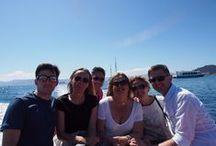 Fam trip: Turexpo (11/6/16) / Viaje en goleta, visita a las Islas Cíes, gastronomía y vinos gallegos a bordo para touroperadores internacionales que visitaron Galicia con motivo de la edición de la feria internacional Turexpo.  Buen tiempo, mar y paisaje inmejorables.