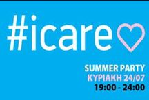 Summer Party for #icare / THE BRITELINE- Art Fashion with a Message and THE BRITELINE INTERNATIONAL ORGANIZATION support the Cause of #icare!