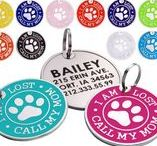 Enameled ID Tag Call My Mom I Am Lost / A great varioty of tags to match our colorful collars at https://collardirect.com