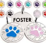 Paw Personalized ID DOG TAGS