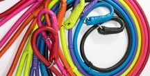 Dog Slip Lead / Every leather slip leash has an adjustable stopper to adjust the loop.