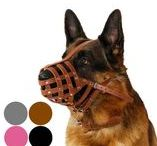 German Shepherd Dog Muzzles / May as well fit Dalmatians, Dobermans, Setters and other breeds with similar snout .