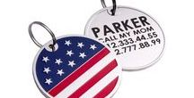 Enameled Pet IDTag / Enjoy PERSONALIZED ID Tags for the best man's friends.