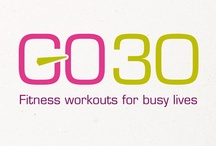 Our Work - GO30 – Brand Naming and Creation / Acumen Design research and deliver exciting new brand for a specialist fitness centre, across all mediums.