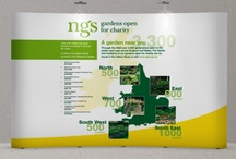 Our Work - National Garden Scheme – Brand Building and Marketing / Acumen Design help bring new life to a charitable trust through strong marketing, displays and advertising.