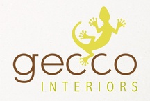 Our Work - Gecco Interiors – Brand Creation & Website Design / Acumen Design create a brand, marketing and website for new environmentally friendly online interior store.