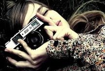 womans with camera