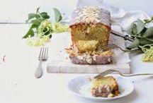 pie, cake and brownie