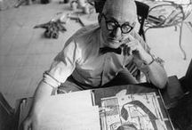 """Arch. LC / """"Architecture is the learned game, correct and magnificent, of forms assembled in the light."""" Le Corbusier. / by Jesus Risueño"""