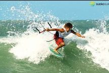 #Wave #kitesurfing in #Brazil / Wave riding in Brazil, #Guajiru with #Sueño Surf