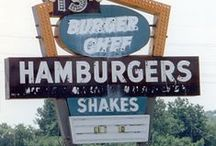 Classic Burger Signs