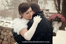 Winter weddings, wedding in the snow. Mariage en hiver. Mariage dans la neige. / Winter weddings - snow weddings