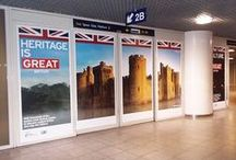 Our Work - British Embassy Brussels – Eurostar Campaign at Brussels Midi / Acumen Design create second innovative and engaging campaign across a train station for British Embassy Brussels