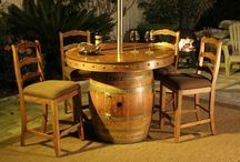 Wine Barrels and Pallets