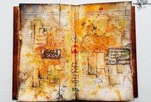 Traveldiary & Scrapbook / How to make your Traveldiary, Scrapbook and Notebook beautifull