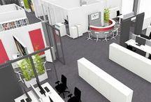 Büroplanung / Hier entstehen die modernen Büros von Morgen.