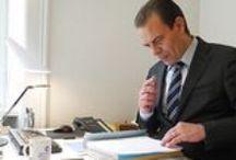 Digitale Spracherkennung / Intelligente Spracherkennung und diktieren im Büro.