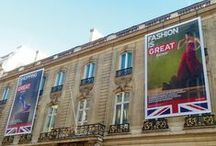 Our Work - British Embassy Paris - Large-scale event marketing / Acumen Design brand entire street to push Great Britain business opportunities.