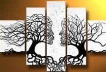 Canvas Art / Kunst Ideen für Leinwände
