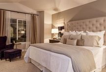 Bedrooms, quiet time places.
