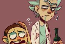 rick and morty / Aw geez, I wonder what's in here... ヾ(@⌒▽⌒@)ノ
