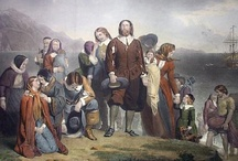 Mayflower / Sixteen of the Mayflower passengers were our direct ancestors: John Alden; Isaac Allerton; John Billington; Gov William Brewster; Peter Browne; Edward Doty; Francis Eaton; Samuel Fuller; Stephen Hopkins; John Howland; Richard More; Degory Priest; Thomas Rogers; George Soule; Edward Tilley; and William White / by Thomas Jay Kemp