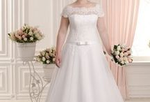 Plus Size Wedding Dresses / Plus Size Wedding Dress www.WeddingDressFantasy.com. Our Plus Size Custom Made Wedding Gowns are customizable and available in up to size 40 and in every color.