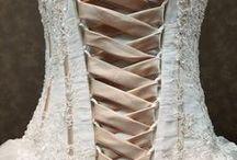 Corset Wedding Dresses / Corset Back Wedding Dresses from WeddingDressFantasy.com.