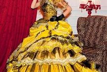 Yellow Wedding Dresses / Yellow Wedding Dresses from WeddingDressFantasy.com. Available in every color, sizes 0-40